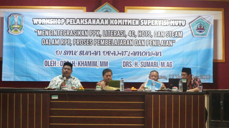 Workshop Pelaksanaan Komitmen Supervisi Mutu
